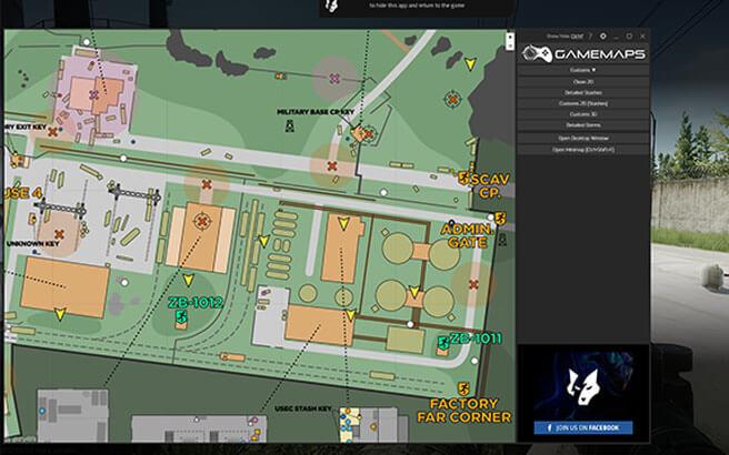 Game Maps Escape From Tarkov
